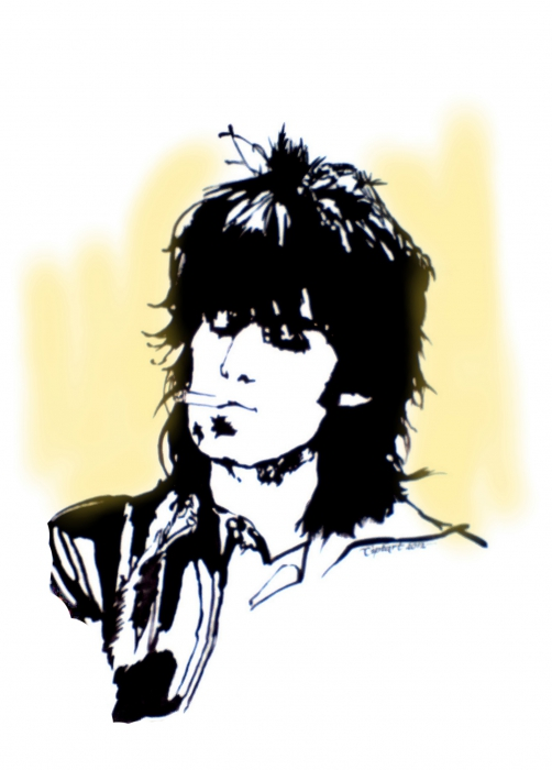 Keith Richards by cipta